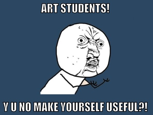 Useless Art Students