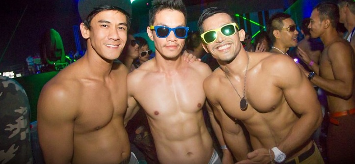 Asian gay circuit party
