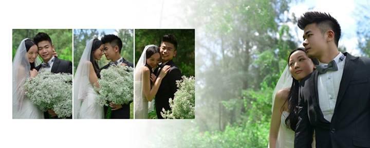 Jack Lim wedding photoshoot