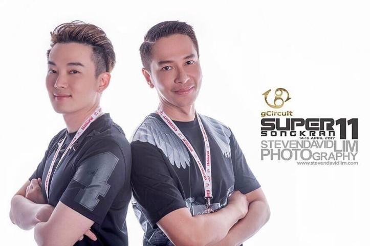 Tom and Oui Songkran