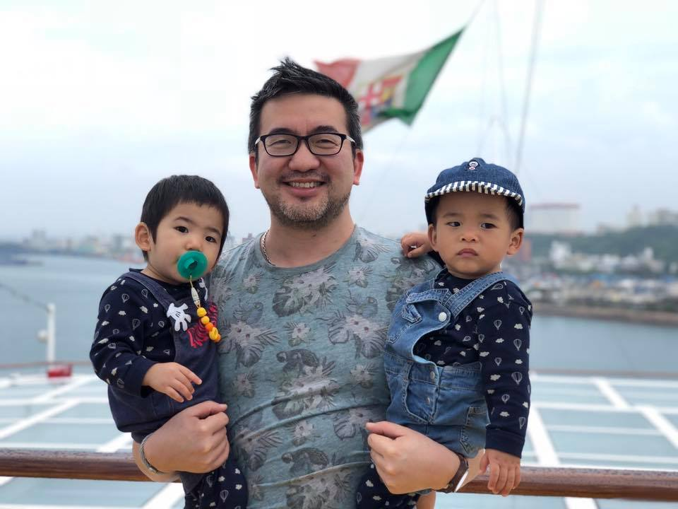 Jay Lin sailor sons