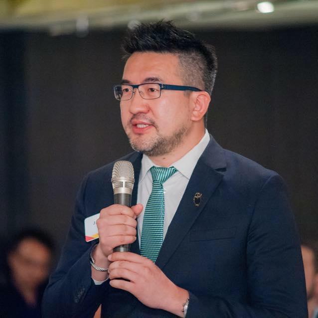 Jay Lin suit